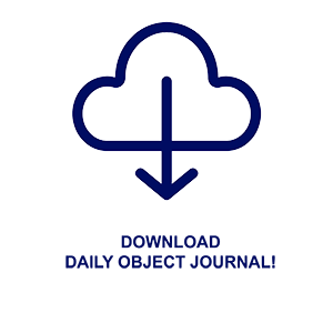 daily object journal